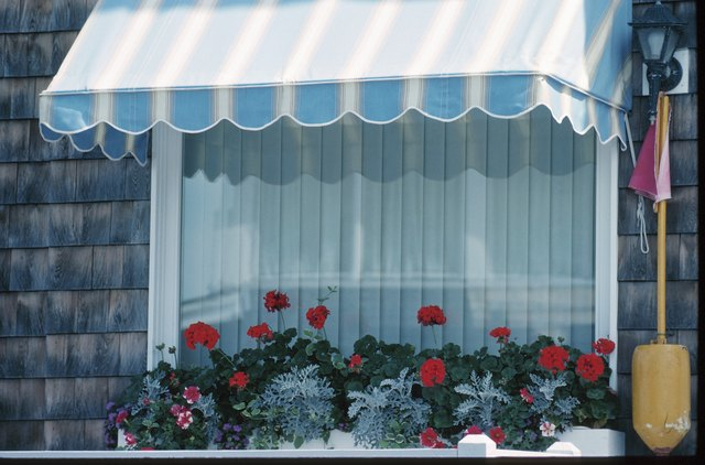 Diy Stationary Window Awning Using Pvc Pipe Hunker