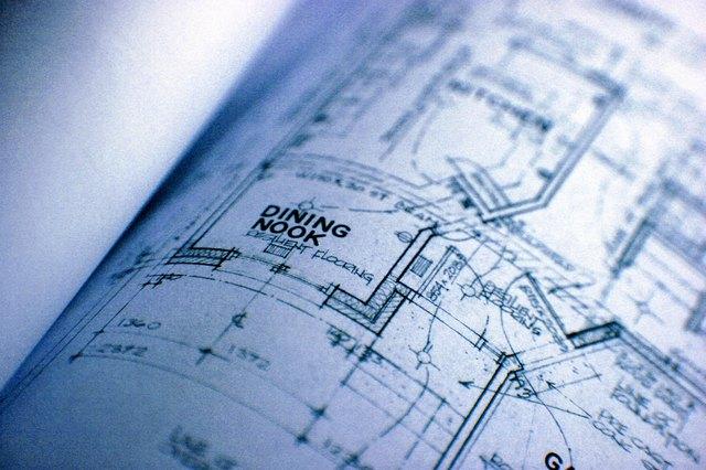 Detail of blueprint