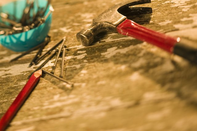 How To Hammer Nails Through Concrete Walls Hunker