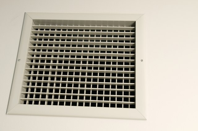 Vent on wall