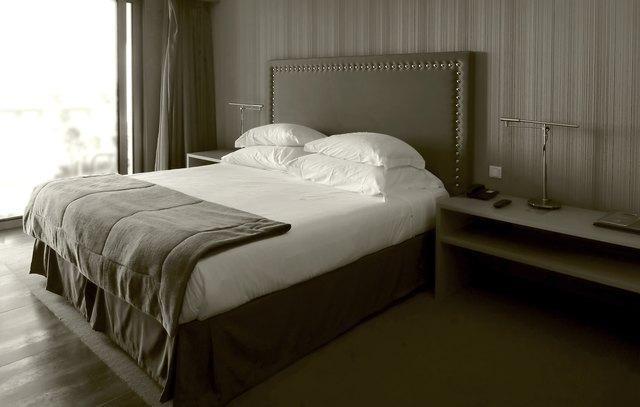 Bedroom in luxury