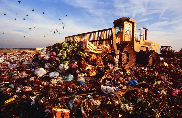 Garbage dump outside Buenos Aires