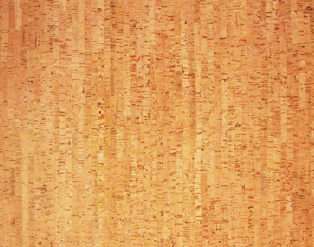 Photography of cork wood grain, Close Up
