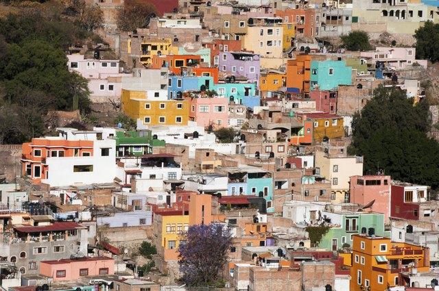 Historical town of Guanajuato (Mexico)