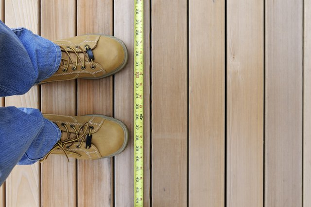 how to build a wood deck over a concrete patio hunker