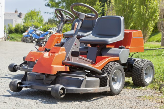 New Red Lawnmowers