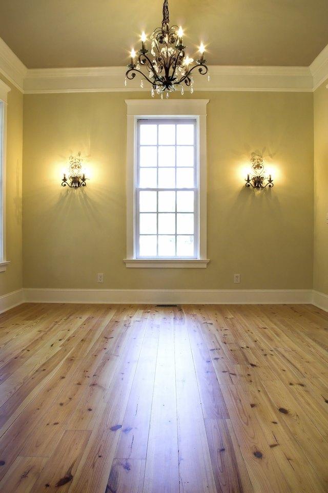 empty elegant room