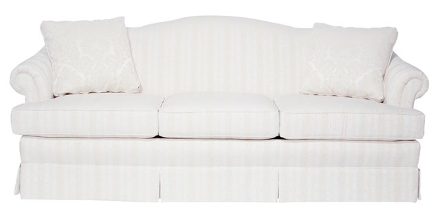 how to clean light colored fabric on a sofa hunker. Black Bedroom Furniture Sets. Home Design Ideas