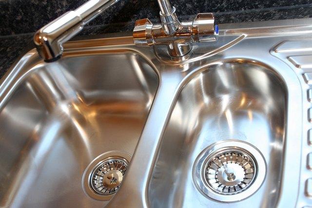 New Shiny Kitchen Sink