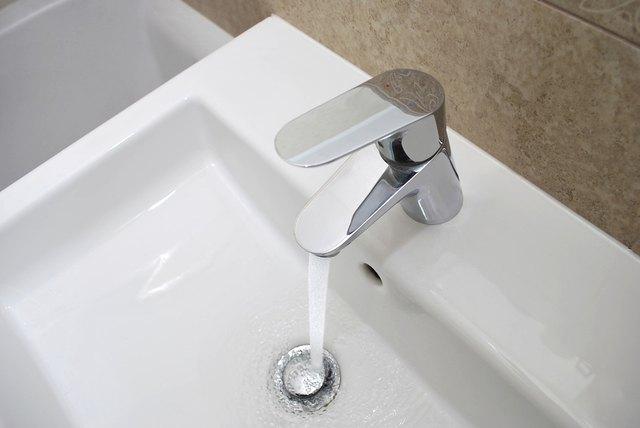 Modern water mixer tap