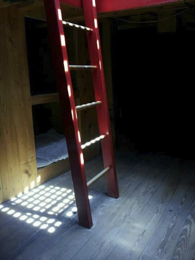 Light on a Ladder
