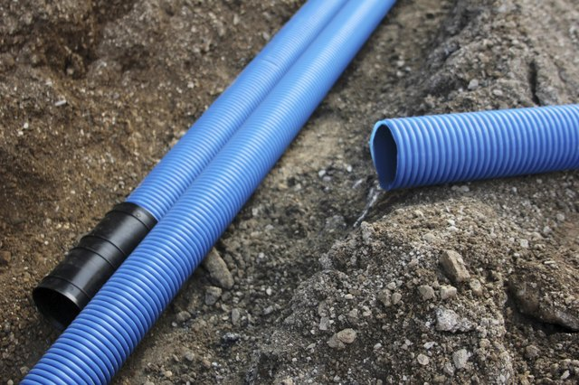 What types of pipes are used for underground water supply for House water pipes types