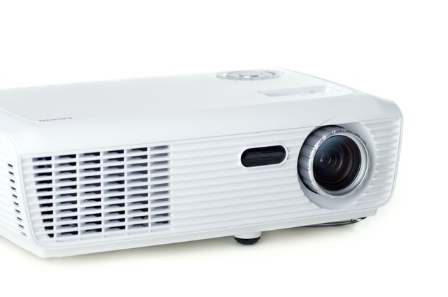 White projector
