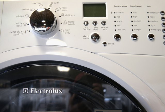 How To Clean An Electrolux Front Load Washer Hunker