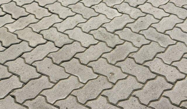 blocks of gray stone blocks for paving sidewalks