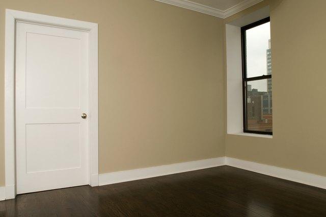 Door and window in modern home