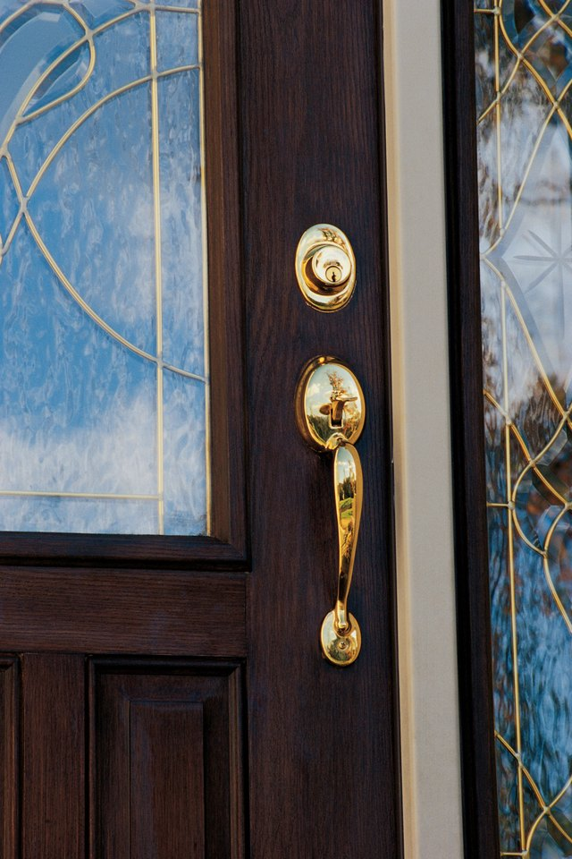 How To Protect Doors With Sidelights Hunker