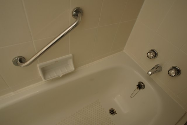 How To Remove Bath Mat Stains From A Bathtub Hunker