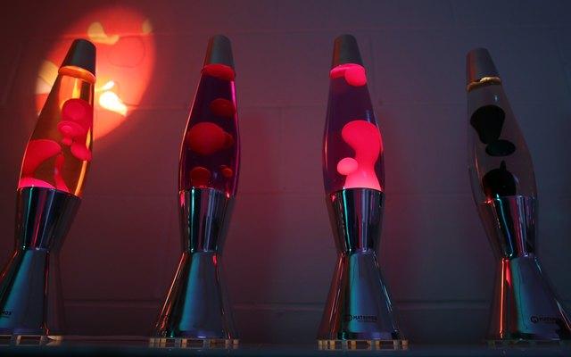 50th Anniversary Of Mathmos Lava Lamps
