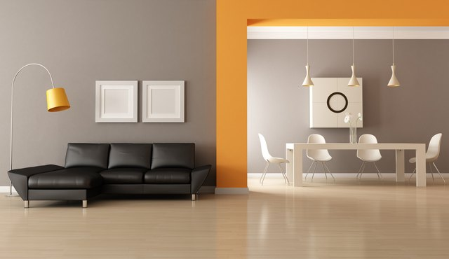 how to paint a room with two different colors hunker