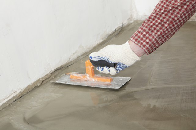 How To Sand A Concrete Floor Hunker