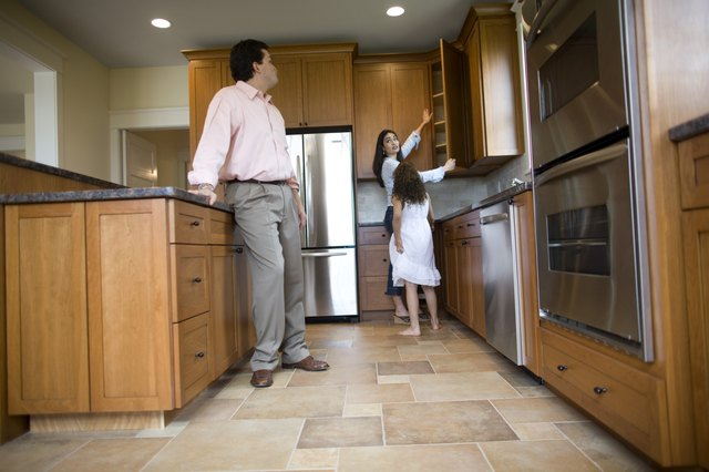 How to Replace Kitchen Tiles Without Removing Cabinets | Hunker