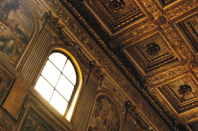 interior if church, Italy