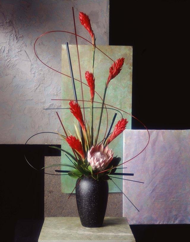 How to make tall artificial flower arrangements hunker step 1 mightylinksfo