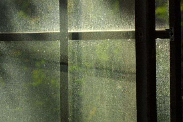 Dirty reflective windows