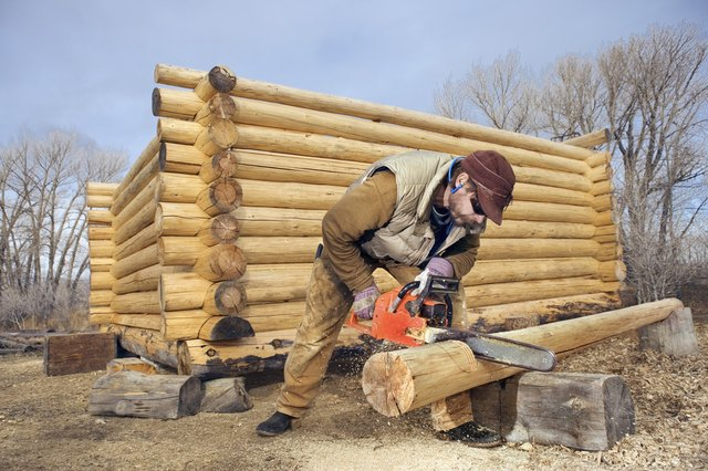 Types of Wood Used in Log Cabins | Hunker