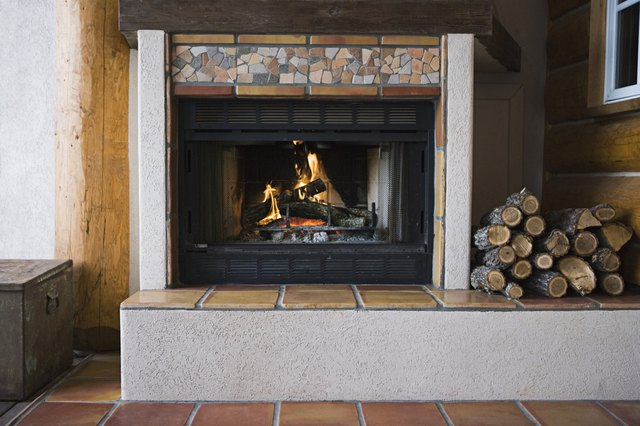 Do I Need to Put Anything on the Floor for a Gas Fireplace? | Hunker