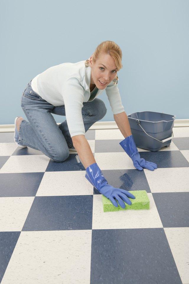 Removing Tar From Floor Tiles Hunker