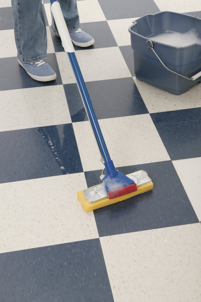 Homemade Vinyl Floor Cleaner Hunker