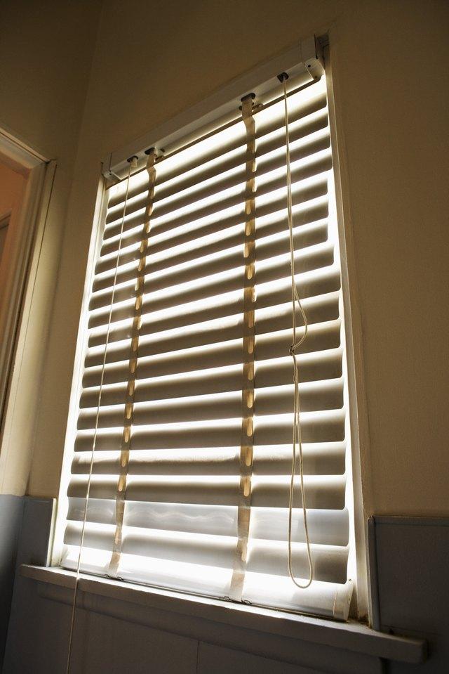 Hanging Blinds On Tension Rods Hunker