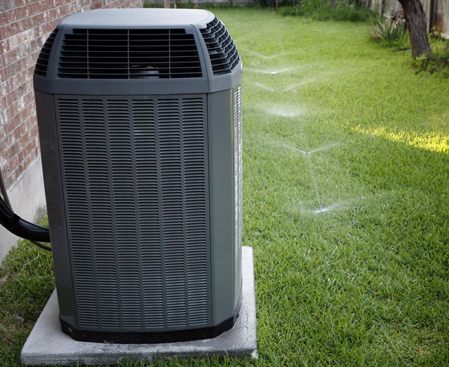 Airconditioner and sprinklers
