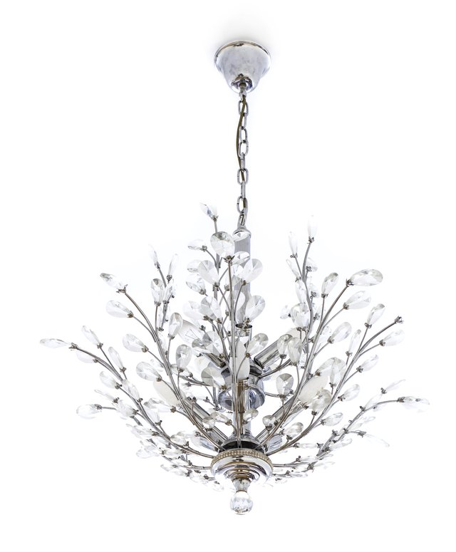 how to shorten the chain on a chandelier
