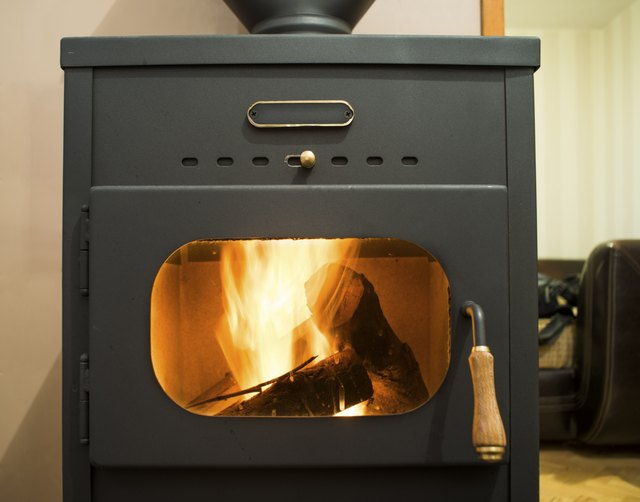 How To Use A Wood Stove Damper Hunker