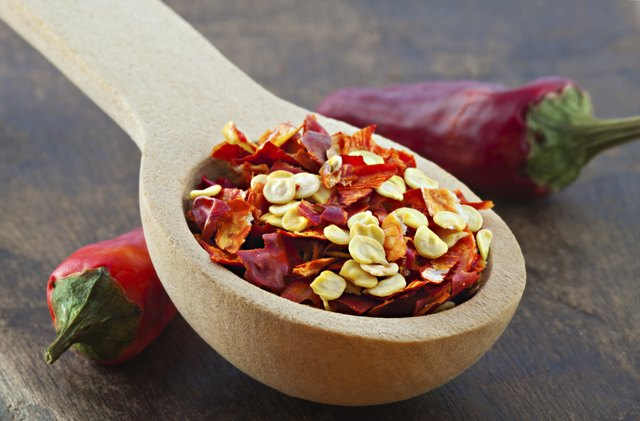 Dried crushed chili red pepper