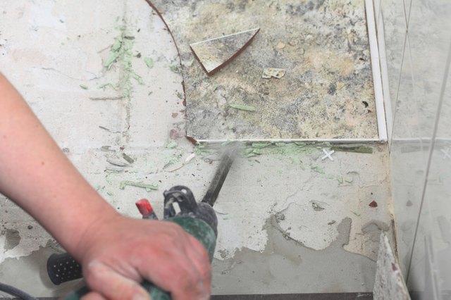 How To Remove Floor Tile Hunker