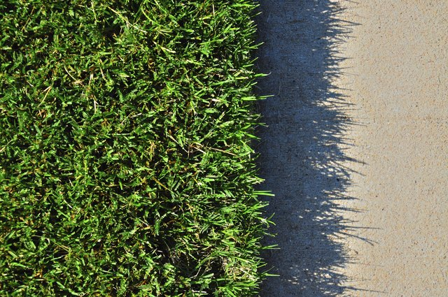 How to Build a Concrete Mow Strip | Hunker