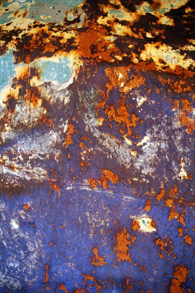 Rust and paint
