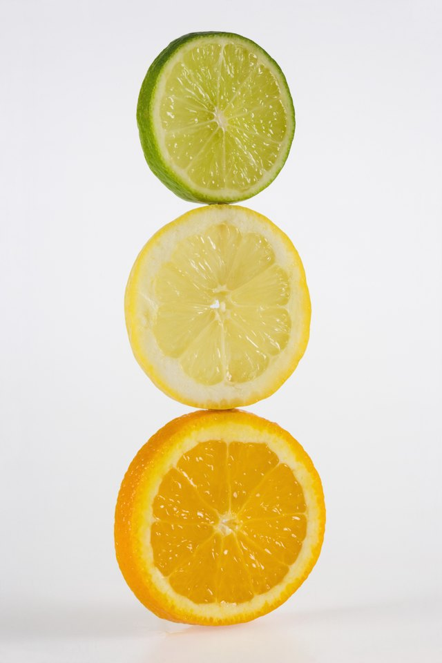 ,Orange, lemon, and lime,