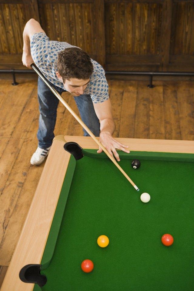 How To Put A Pool Table On Hardwood Floors Hunker - How to put a pool table together