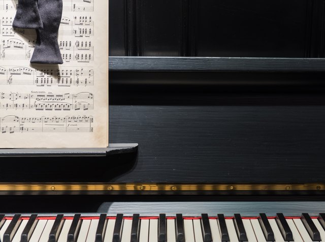 Piano, Music & Bow Tie