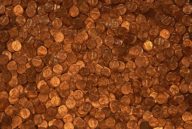 pile of pennies - Penny Backsplash Model