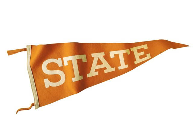 How To Hang Pennants On The Wall Without Nails Hunker
