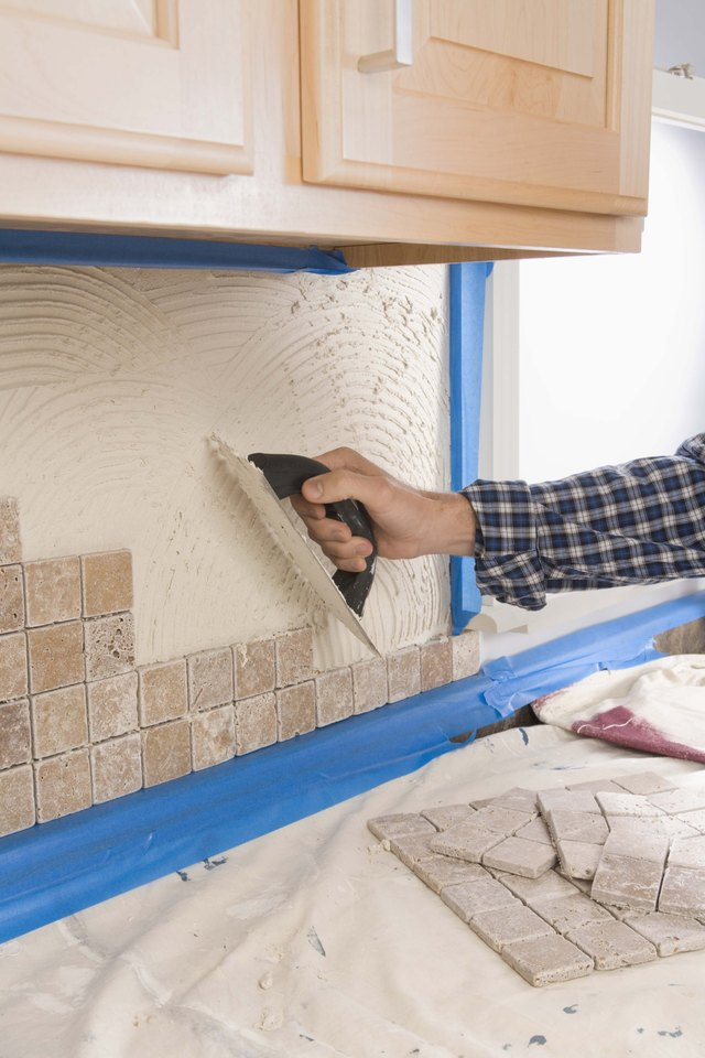 How To Remove Tile Mortar From Grout Lines Hunker