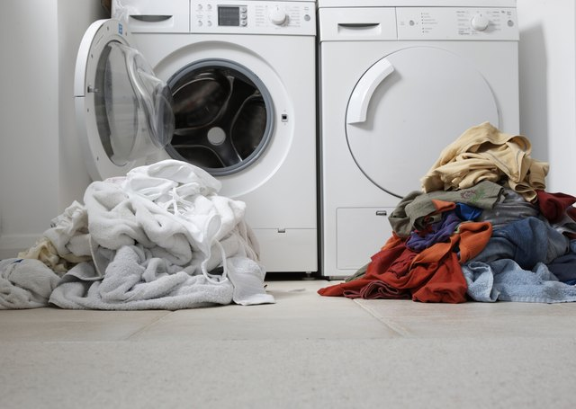 Step 1 Place The Dark Clothes Back In Washing Machine