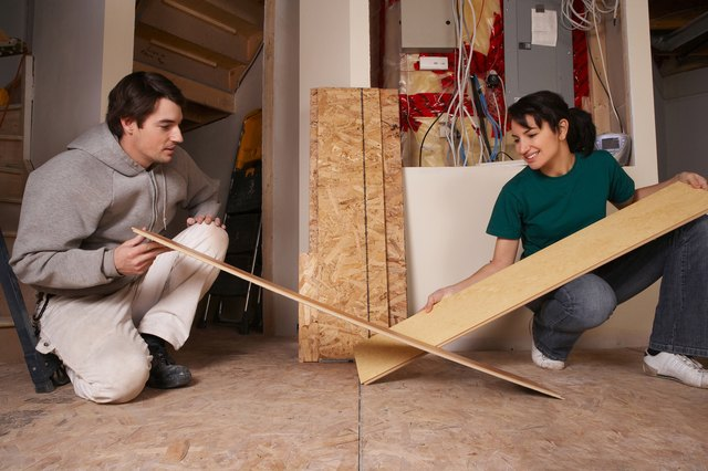 Couple with flooring