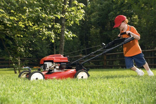 How To Troubleshoot Lawn Boy Self Propelled Mowers Hunker